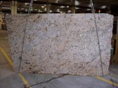 Fornitura lastre grezze lucide 3 cm in granito naturale AFRICAN BEIGE CV-18734. Dettaglio immagine fotografie