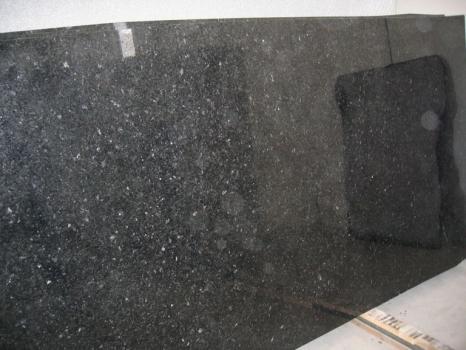 Fornitura lastre grezze lucide 2 cm in granito naturale ANGOLA BLACK SILVER CV_ASB25. Dettaglio immagine fotografie