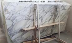 Fornitura lastre grezze lucide 2 cm in marmo naturale ARABESCATO CARRARA TL0199. Dettaglio immagine fotografie