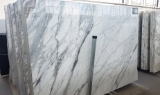 Fornitura lastre grezze lucide 2 cm in marmo naturale ARABESCATO VAGLI U0186. Dettaglio immagine fotografie