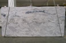 Fornitura lastre grezze lucide 3 cm in Dolomite naturale ARTIC WHITE 1236G. Dettaglio immagine fotografie