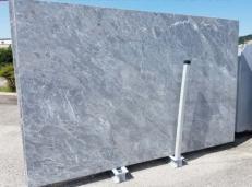 Fornitura lastre grezze levigate 2 cm in marmo naturale BARDIGLIO NUVOLATO CHIARO AA T0043. Dettaglio immagine fotografie