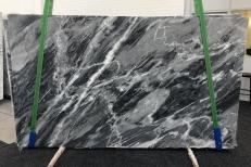 Fornitura lastre lucide 0.8 cm in marmo naturale BARDIGLIO NUVOLATO SCURO 1172. Dettaglio immagine fotografie