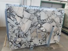 Fornitura lastre grezze lucide 2 cm in marmo naturale BEAUTY GREY UL0077. Dettaglio immagine fotografie