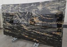 Fornitura lastre grezze lucide 2 cm in quarzite naturale BELVEDERE 1147. Dettaglio immagine fotografie