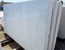 Fornitura lastre levigate 2 cm in marmo naturale BIANCO CARRARA C 2002. Dettaglio immagine fotografie