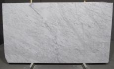 Fornitura lastre grezze levigate 3 cm in marmo naturale BIANCO CARRARA CD 1427M. Dettaglio immagine fotografie