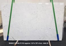 Fornitura lastre grezze lucide 3 cm in marmo naturale BIANCO GIOIA EXTRA 1152. Dettaglio immagine fotografie