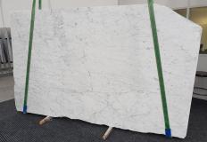 Fornitura lastre grezze levigate 2 cm in marmo naturale BIANCO GIOIA EXTRA 1266. Dettaglio immagine fotografie