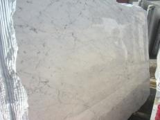 Fornitura lastre grezze lucide 2 cm in marmo naturale BIANCO GIOIA VENATO EM_0238. Dettaglio immagine fotografie