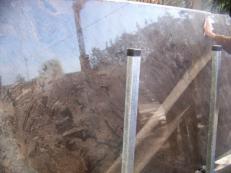 Fornitura lastre grezze lucide 2 cm in marmo naturale BLACK SEA C-1007. Dettaglio immagine fotografie