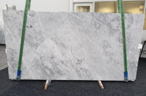 Fornitura lastre lucide 2 cm in marmo naturale Blue de Savoie 1259. Dettaglio immagine fotografie