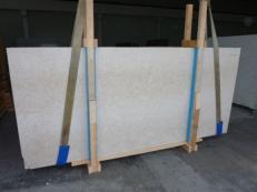 Fornitura lastre grezze lucide 3 cm in marmo naturale BOTTICINO FIORITO LIGHT SC_985. Dettaglio immagine fotografie