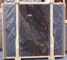 Fornitura lastre grezze lucide 2 cm in breccia naturale BRECCIA ANTICA E-14709. Dettaglio immagine fotografie