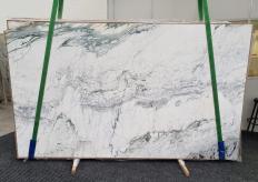 Fornitura lastre grezze lucide 2 cm in marmo naturale BRECCIA CAPRAIA GRIGIA 1353. Dettaglio immagine fotografie