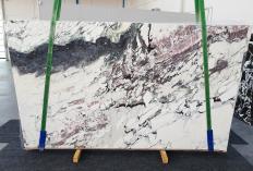 Fornitura lastre grezze lucide 2 cm in marmo naturale BRECCIA CAPRAIA 1283. Dettaglio immagine fotografie