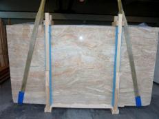 Fornitura lastre grezze lucide 0.8 cm in breccia naturale BRECCIA ONICIATA SC_982. Dettaglio immagine fotografie