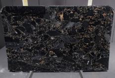 Fornitura lastre grezze lucide 3 cm in marmo naturale BRECCIA PORTORO 1064M. Dettaglio immagine fotografie