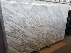 Fornitura lastre grezze lucide 2 cm in marmo naturale CALACATTA ARNI Z0182. Dettaglio immagine fotografie