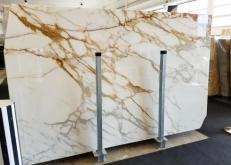Fornitura lastre grezze lucide 2 cm in marmo naturale CALACATTA BORGHINI AA S0345. Dettaglio immagine fotografie