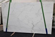 Fornitura lastre grezze lucide 2 cm in marmo naturale CALACATTA CALDIA GL 1039. Dettaglio immagine fotografie