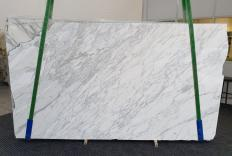 Fornitura lastre grezze lucide 3 cm in marmo naturale CALACATTA CARRARA 1295. Dettaglio immagine fotografie