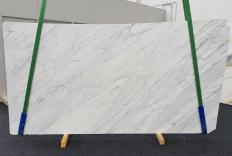 Fornitura lastre grezze levigate 2 cm in marmo naturale CALACATTA CARRARA 1313. Dettaglio immagine fotografie
