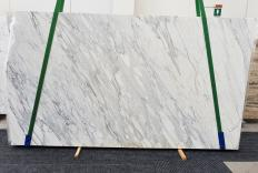 Fornitura lastre grezze lucide 2 cm in marmo naturale CALACATTA CREMO 1427. Dettaglio immagine fotografie