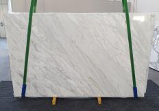 Fornitura lastre lucide 2 cm in marmo naturale CALACATTA CREMO 1263. Dettaglio immagine fotografie