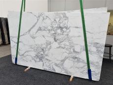 Fornitura lastre grezze lucide 2 cm in marmo naturale CALACATTA EXTRA 1373. Dettaglio immagine fotografie