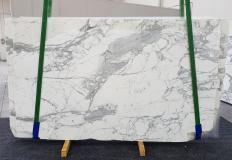 Fornitura lastre lucide 2 cm in marmo naturale CALACATTA EXTRA 1255. Dettaglio immagine fotografie