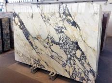 Fornitura lastre grezze lucide 2 cm in marmo naturale CALACATTA FIORITO Z0052. Dettaglio immagine fotografie