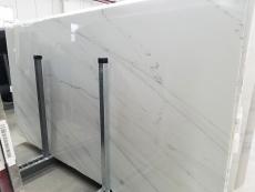 Fornitura lastre grezze lucide 2 cm in marmo naturale CALACATTA LINCOLN GOLD VEIN 1670M. Dettaglio immagine fotografie