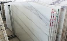 Fornitura lastre grezze lucide 3 cm in marmo naturale CALACATTA LINCOLN U0180509. Dettaglio immagine fotografie
