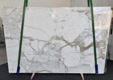 Fornitura lastre grezze lucide 2 cm in marmo naturale CALACATTA MACCHIA ANTICA 1311. Dettaglio immagine fotografie