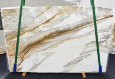Fornitura lastre grezze lucide 0.8 cm in marmo naturale CALACATTA MACCHIAVECCHIA 1354. Dettaglio immagine fotografie