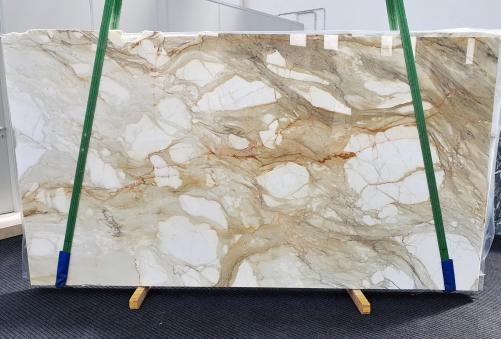Fornitura lastre grezze lucide 2 cm in marmo naturale CALACATTA MACCHIAVECCHIA 1429. Dettaglio immagine fotografie