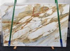 Fornitura lastre grezze lucide 2 cm in marmo naturale CALACATTA MACCHIAVECCHIA 1422. Dettaglio immagine fotografie