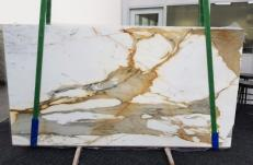 Fornitura lastre grezze lucide 2 cm in marmo naturale CALACATTA MACCHIAVECCHIA GL 1130. Dettaglio immagine fotografie