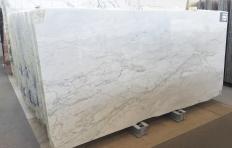 Fornitura lastre grezze lucide 2 cm in marmo naturale CALACATTA MICHELANGELO A0261. Dettaglio immagine fotografie