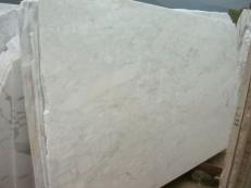 Fornitura lastre grezze segate 2 cm in marmo naturale CALACATTA MICHELANGELO E-O423. Dettaglio immagine fotografie