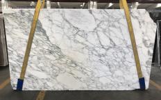 Fornitura lastre grezze lucide 2 cm in marmo naturale CALACATTA MONET 1541M. Dettaglio immagine fotografie