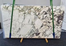 Fornitura lastre grezze lucide 2 cm in marmo naturale CALACATTA MONET 1302. Dettaglio immagine fotografie