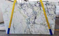 Fornitura lastre grezze segate 2 cm in marmo naturale CALACATTA MONET Z0200. Dettaglio immagine fotografie