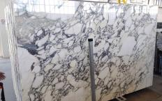 Fornitura lastre grezze lucide 2 cm in marmo naturale CALACATTA MONET Z0200. Dettaglio immagine fotografie