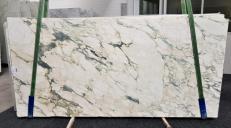 Fornitura lastre grezze lucide 2 cm in marmo naturale CALACATTA MONET 1067. Dettaglio immagine fotografie