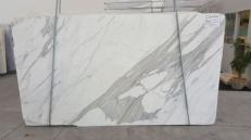 Fornitura lastre grezze lucide 3 cm in marmo naturale CALACATTA ORO EXTRA GL 791. Dettaglio immagine fotografie