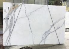 Fornitura lastre grezze lucide 2 cm in marmo naturale CALACATTA ORO EXTRA GL D190223. Dettaglio immagine fotografie