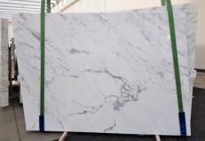 Fornitura lastre grezze lucide 2 cm in marmo naturale CALACATTA ORO EXTRA GL 1043. Dettaglio immagine fotografie