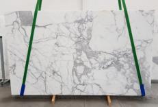 Fornitura lastre grezze lucide 2 cm in marmo naturale CALACATTA ORO EXTRA 1145. Dettaglio immagine fotografie